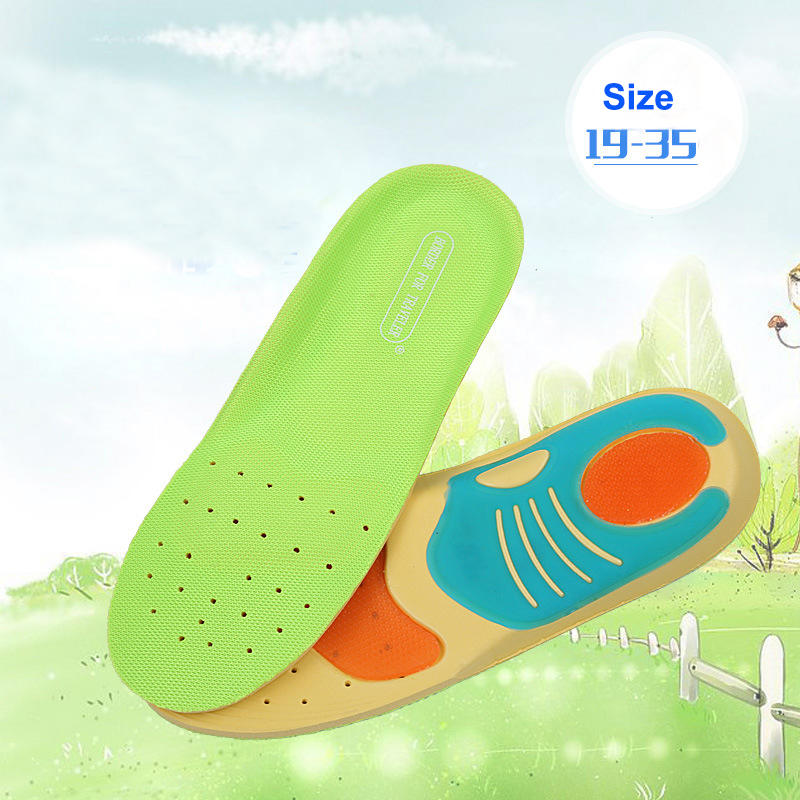 Children Shoe Insoles Gel Pad Cushioning Shock Absorption