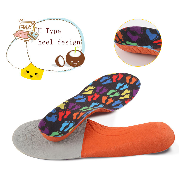 S-King-Kids Shoe Insoles, Kids Orthotic Arch Support Shoe Insoles, Children Eva-2