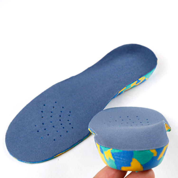 Kids Insoles Orthotic Inserts Comfort Arch Support, Shock Absorbing Active Children's Inner Soles Cushion Pads Orthopedic for Heel, Arch, Flat Feet, Under/Over Pronation