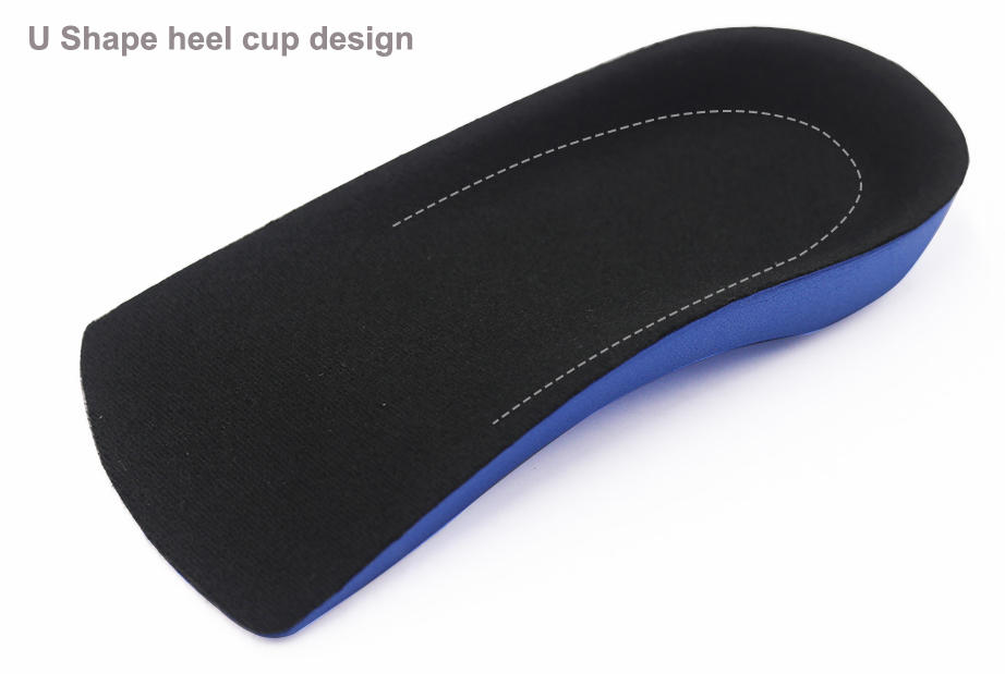 3/4 Orthotics Shoe Insoles Arch Support Flat Foot Plantar Fasciitis