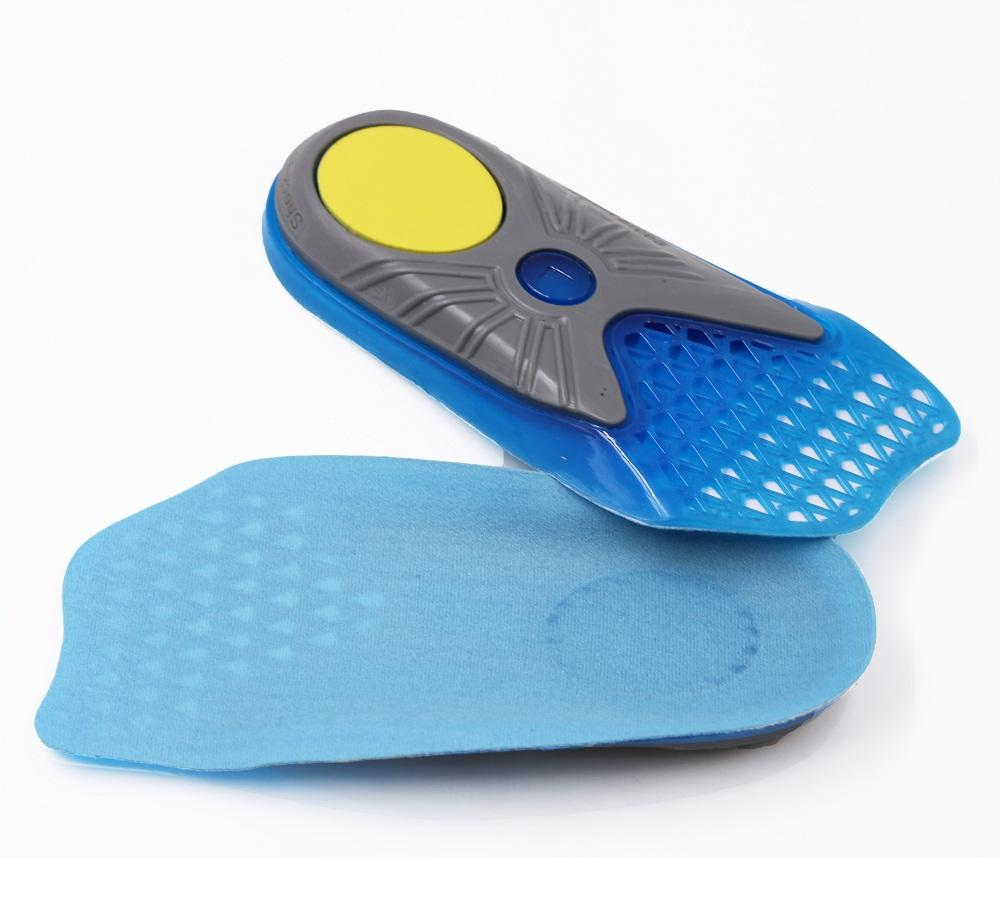 3/4 Length Arch Support Shoe Inserts for Women & Men Anti Fatigue Walking, Running and Overpronation Insoles
