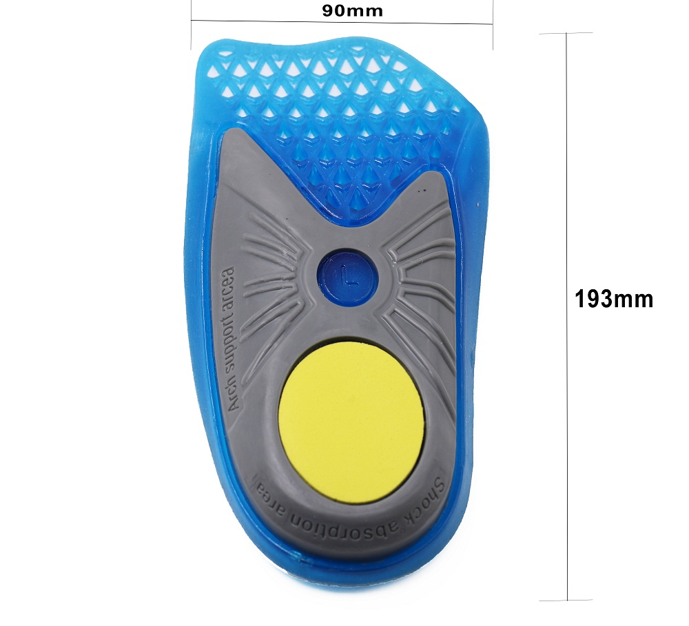 S-King-Gel Orthotic Insoles 34 Length Arch Support Shoe Inserts For Women -1