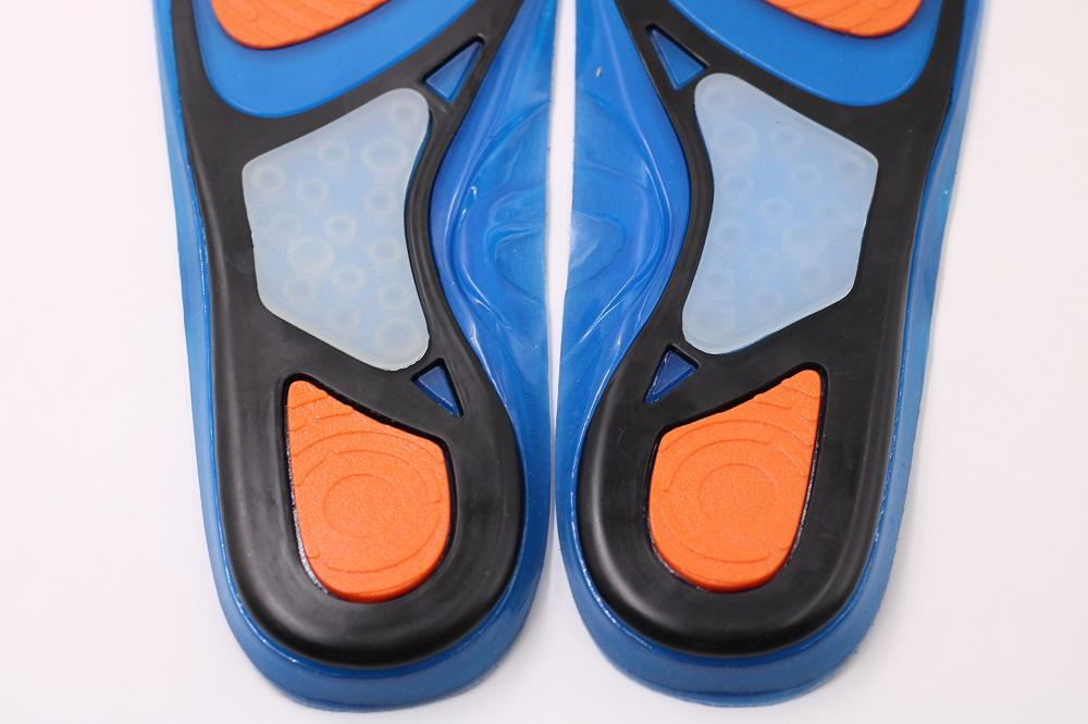 Gel Comfort Massaging Insoles For Working Boots HIKING RUNNING TRAINERS