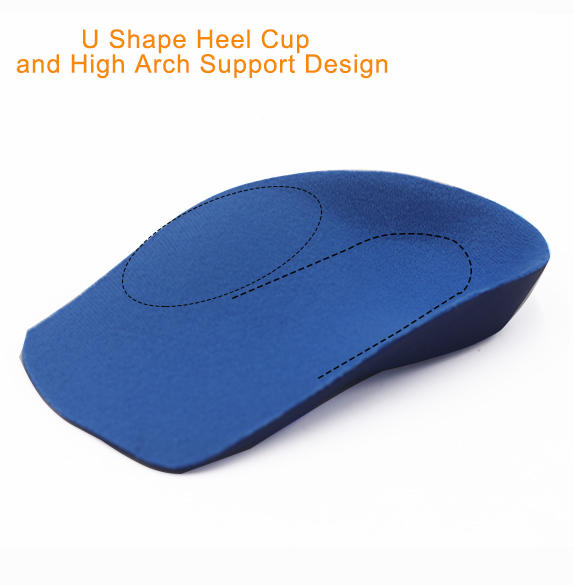 Comfort Childrens Insoles for Kids Flat Feet with Arch Support