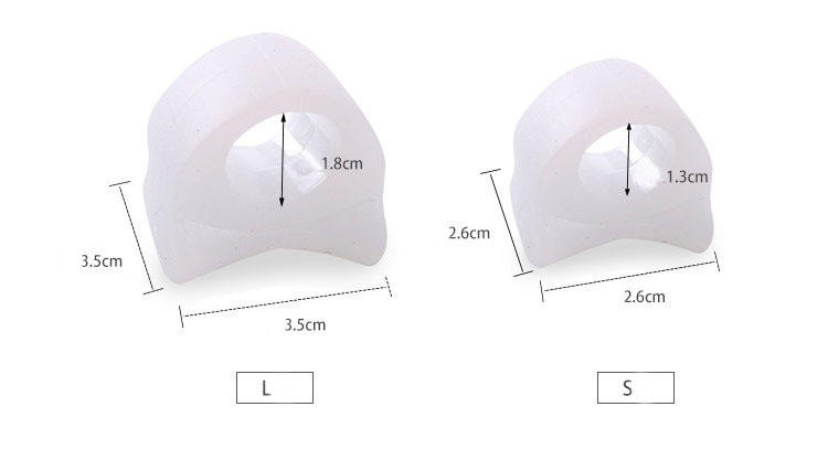 S-King High-quality toe spacers for dancers for overlapping toes