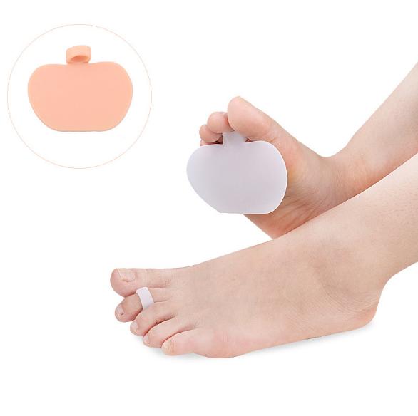 Silicone Metatarsal Pad,soft gel medical metatarsal pad with toe spreader