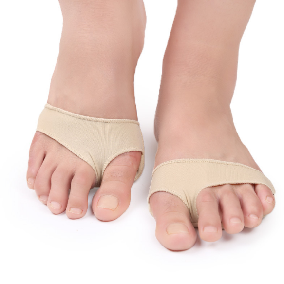 Gel Pad Metatarsal Cushion for Forefoot Pain, Plantar Warts, Corns and Sesamoiditis