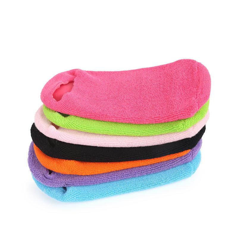 Wholesale moisturizing spa Gel Socks for foot with vitamin E