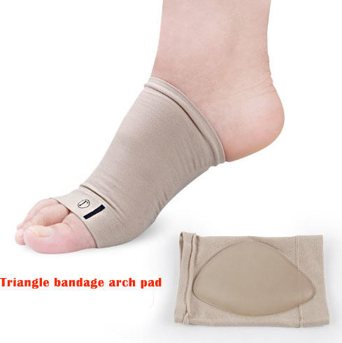 Wholesaler Foot care silicone Arch Support Sleeve Flat Feet Orthotics Plantar Fasciitis Socks
