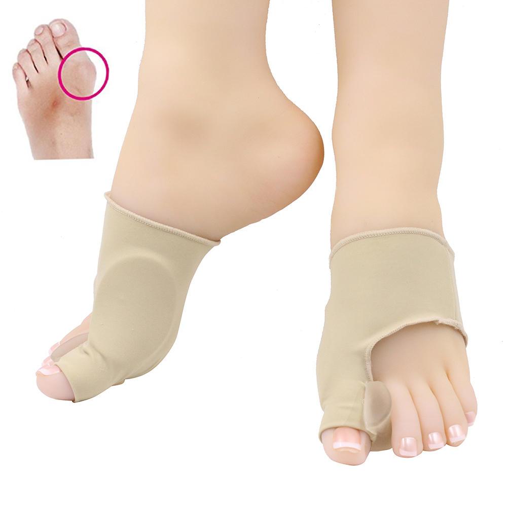 Gel hallux straightener , toe separator , hallux valgus bunion sleeve