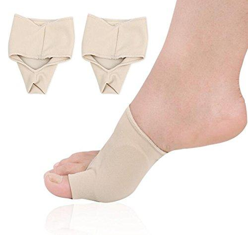 Bunion Protectors, Gel Lined Bunion Support Socks Ultra Thin, Toe Bunion Corrector for Overlapping Toe