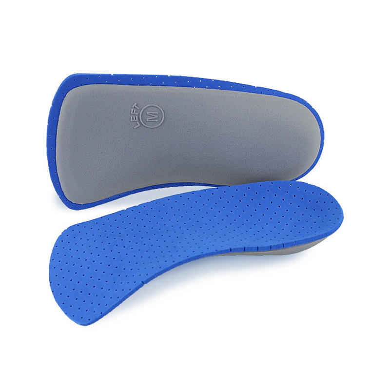 Orthotic insoles Arch support half length flat feet support shock absorption plantar fasciitis