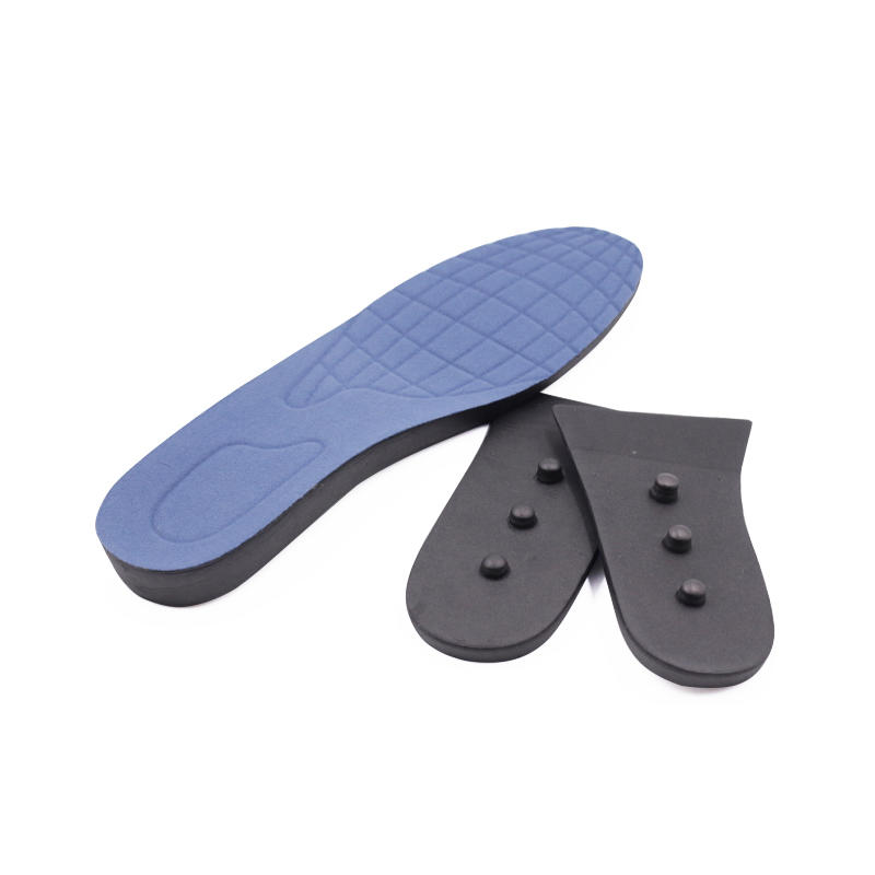 Elevator insole Full length EVA height increasing insole high heel 3layer height increase insole,
