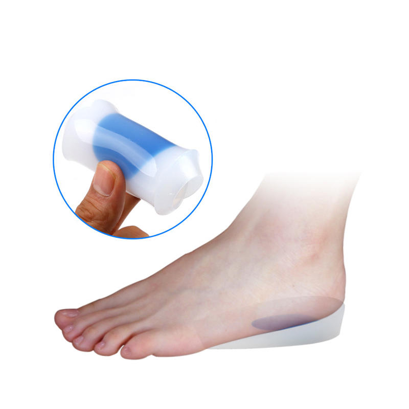 Silicone Insole Achilles Tendon Inflammation Shock Absorber Massage Flat Foot Special Diabetic Footpad