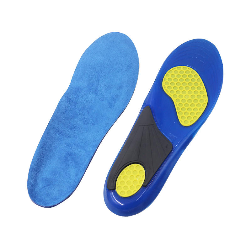 Gel Insoles Breathable Sports Shoe Inserts for Running, Hiking,Comfort Insoles for Shock Absorption Heel Protection