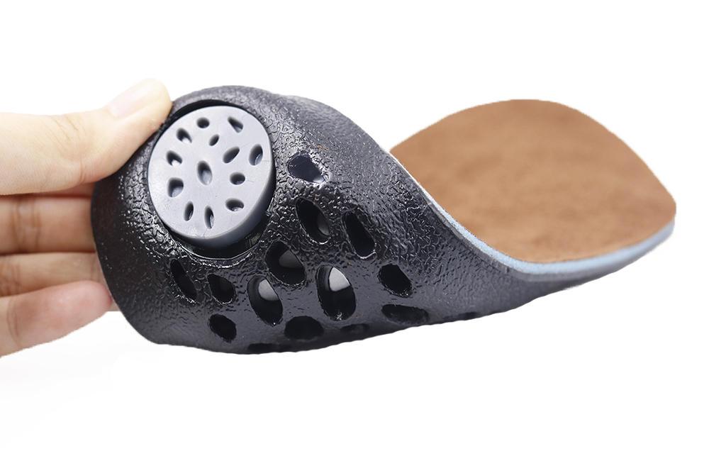 Unisex gel insoles heel pressure relief cushioning sport honeycomb