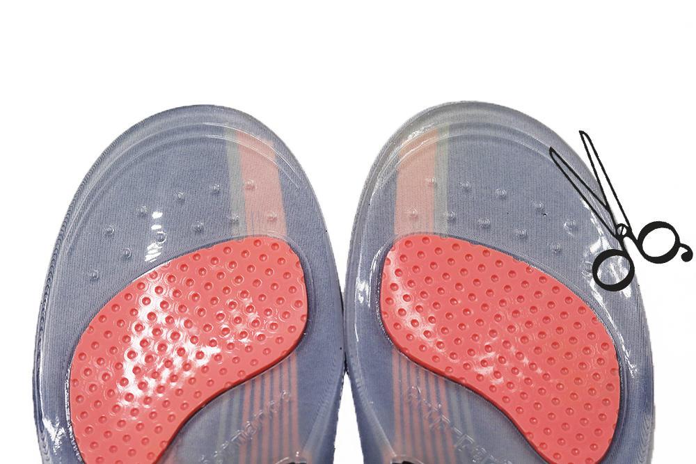 Sport cushioning shoe insole Hotselling custom logo best comfort shock absorbing gel field pain relief