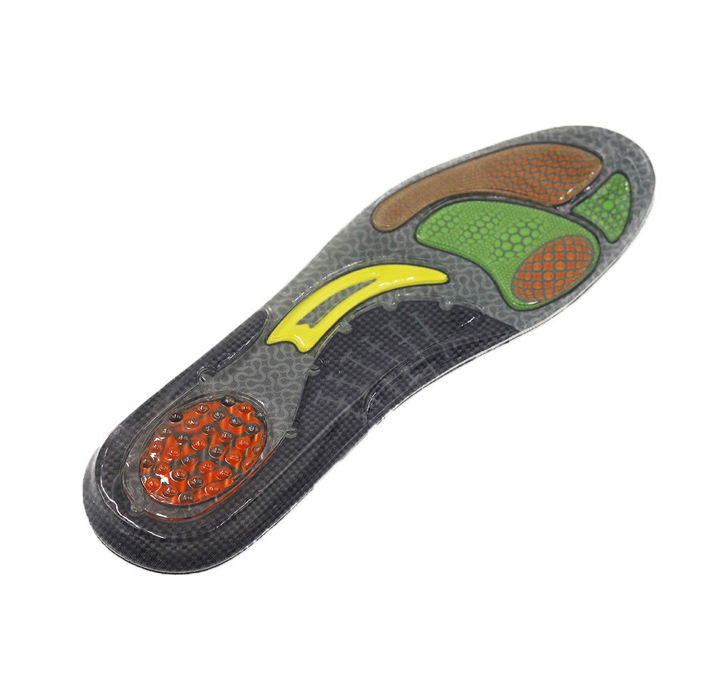 Custom gel active insoles factory for forefoot pad