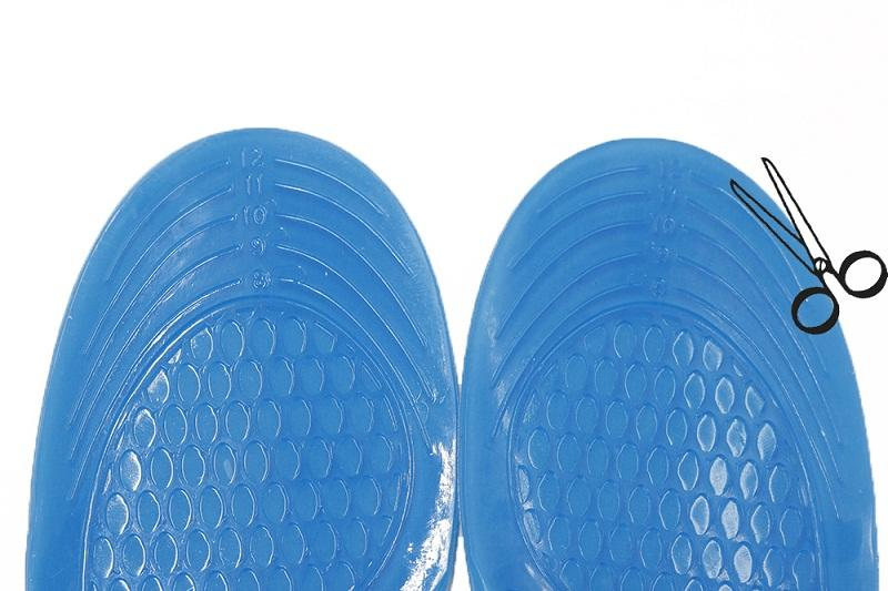 Walking comfort insole China factory price promotional gel sheet cushion best shock absorb