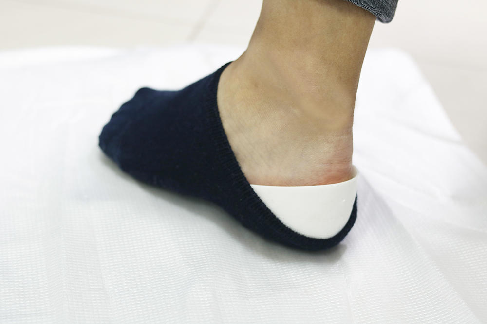 Height increase taller shoe insoles outdoor TPU invisible anti shock socks heel lift inserts heel cup