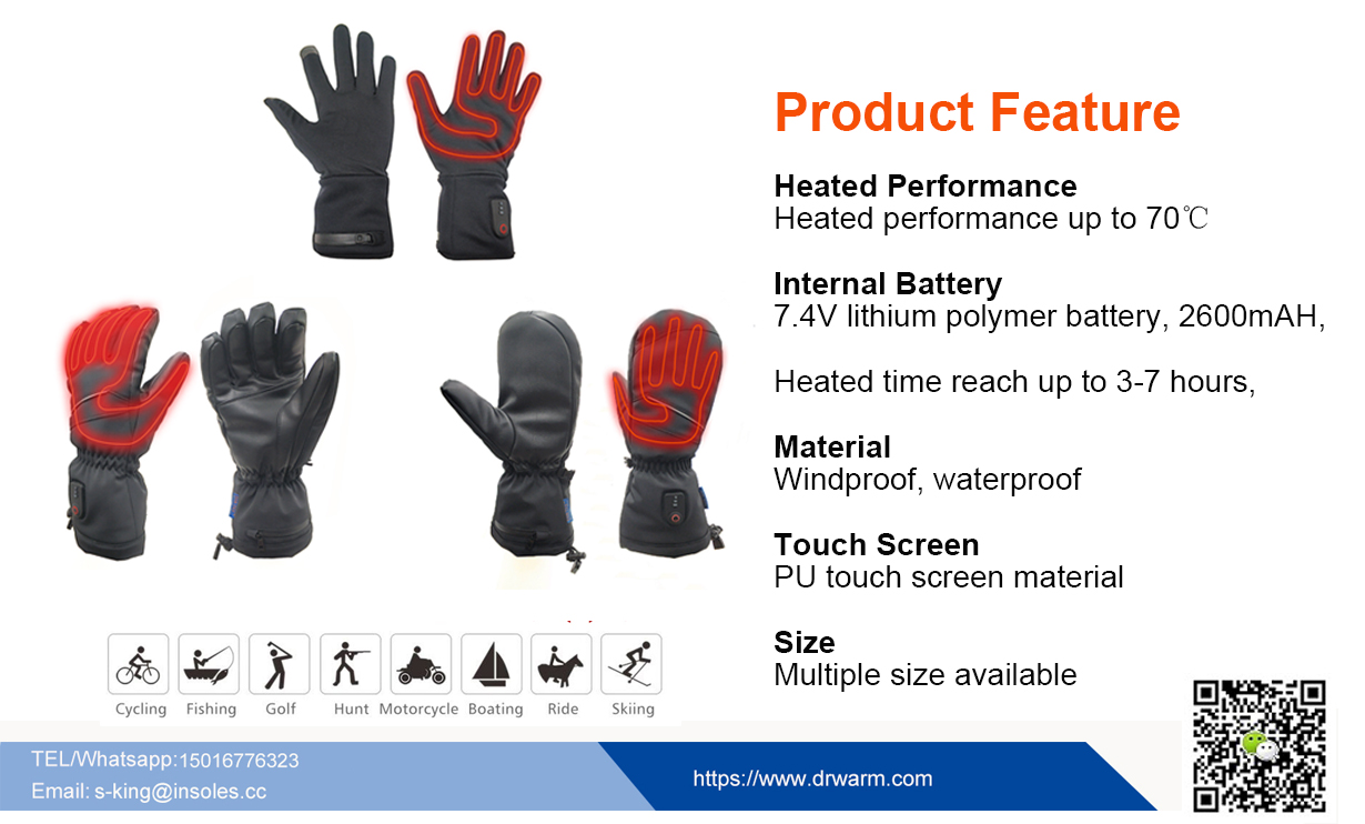 S-King-Dr.warm Waterproof Heated GlovesTesting
