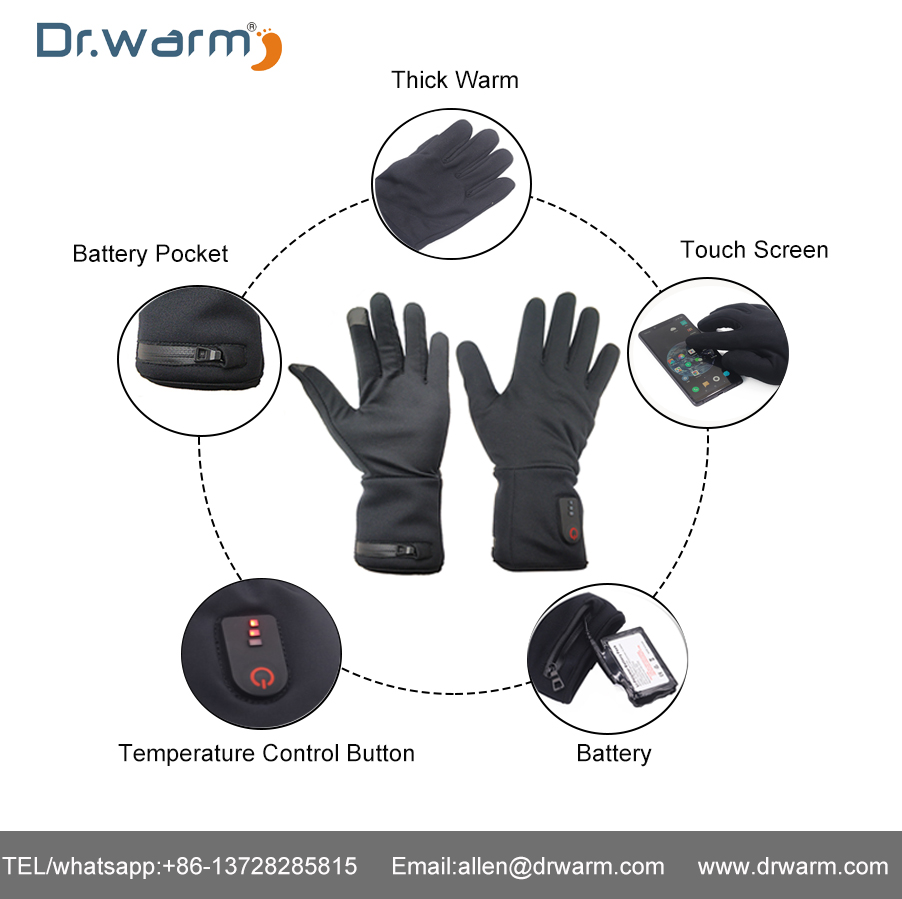S-King-Dr.warm Heated Glove Current Test