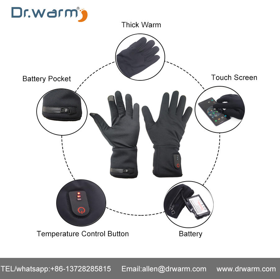 Dr.warm Heated Glove Current Test
