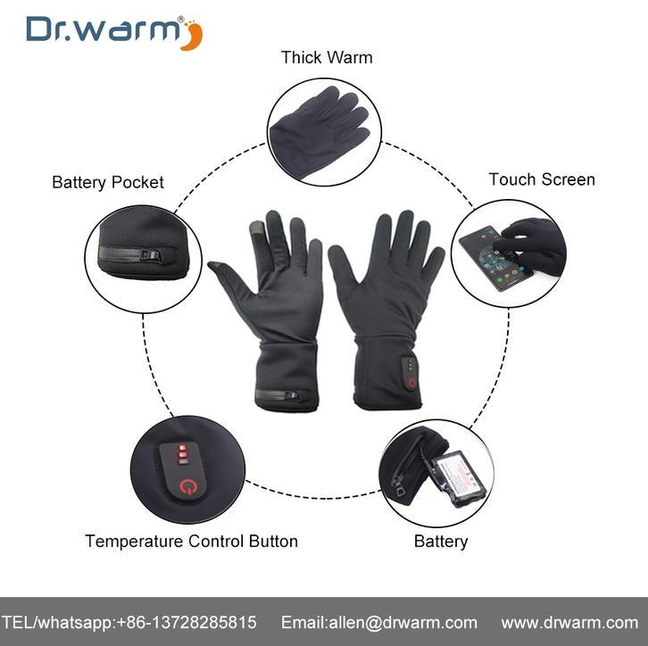 Dr.warm Heated Glove Current Test