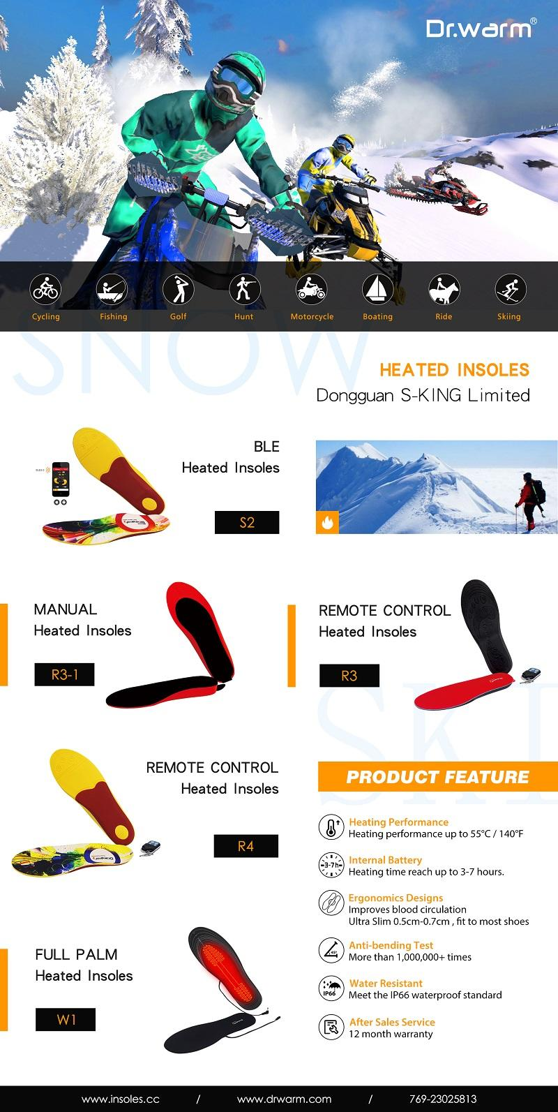 Dongguan S-king Heated Insoles