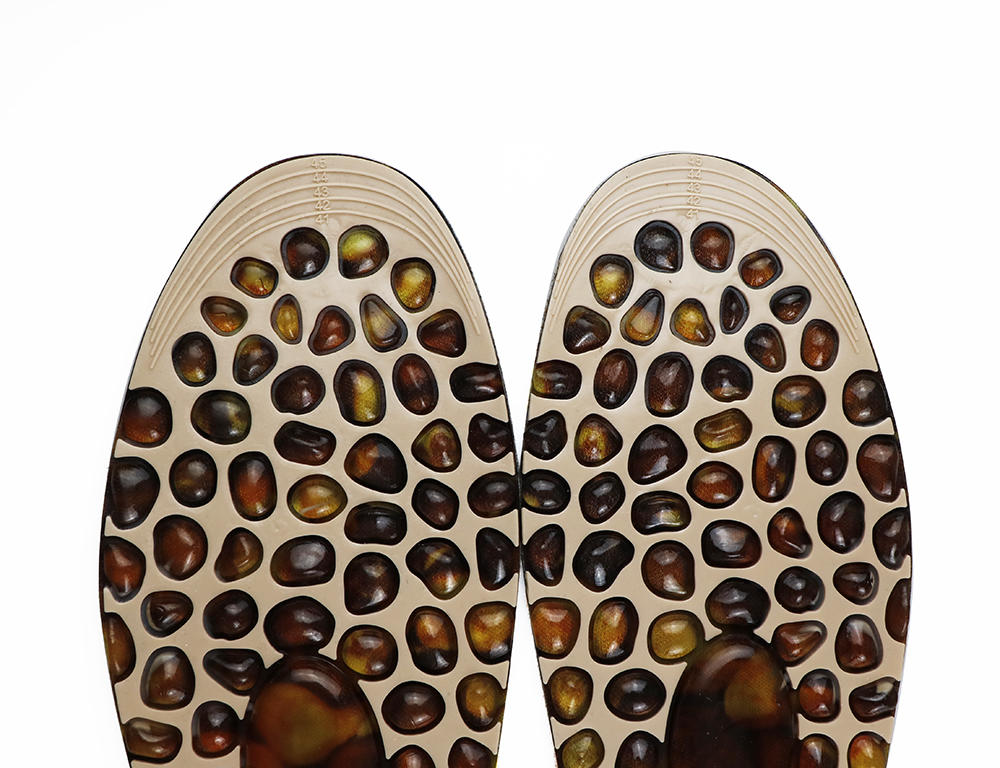 Cobble Stone Massage shoe Insoles Promote blood circulation Foot Acupoint Therapy For Walk