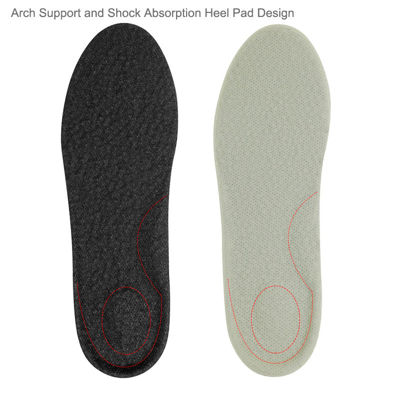 E-TPU height increase popcorn shoe insole Manufacturer Invisible Unisex soft  for sport shoes