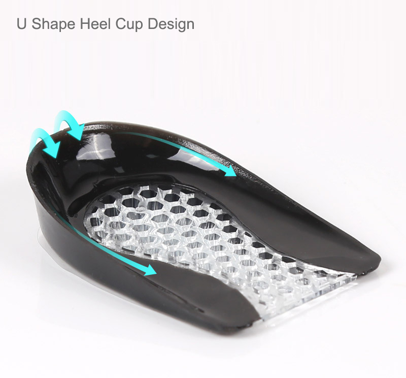 product-S-King-Soft and Comfortable Heel Pain Relieve Honeycomb Plantar sports Shock Absorption Hal