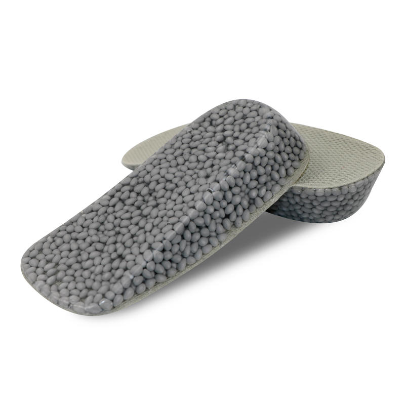 Invisible Cushioning soft shock absorption height increase popcorn shoe insole