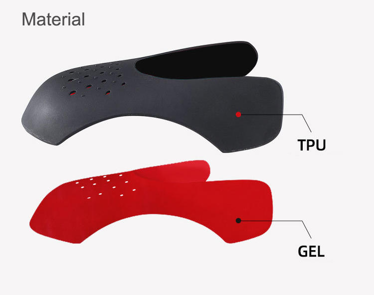 Anti-wrinkle shoe creases shoe sneakers shield TPE material