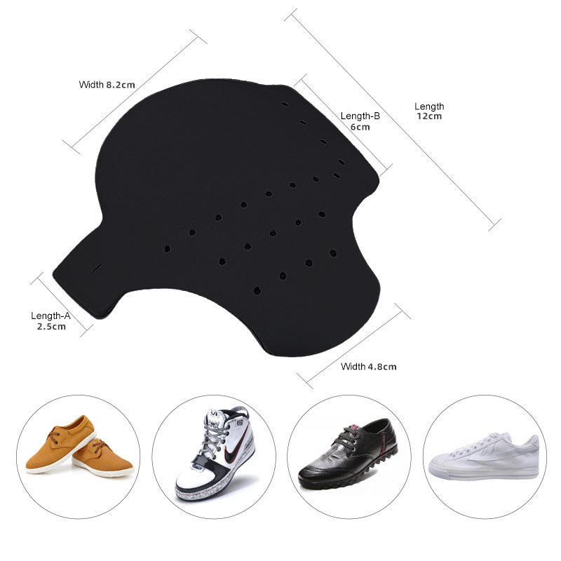 Sneakers shoe shield support Anti-crease anti-wrinkle toe shaped shoe support