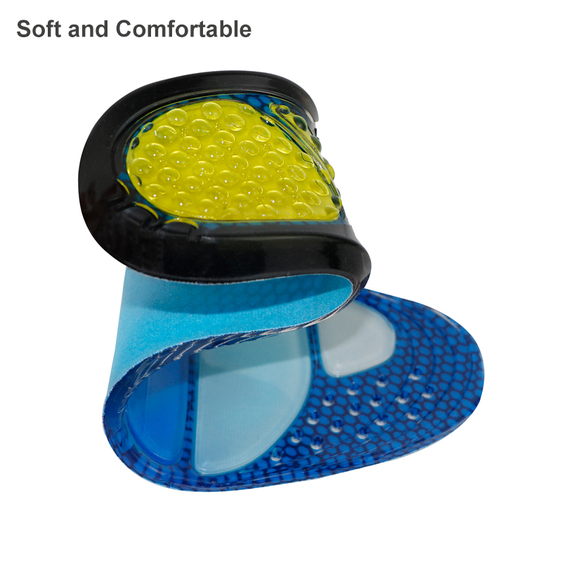 product-S-King-Custom printed shoe insole Wholesale silicone gel magnetic sport foot massage orthoti