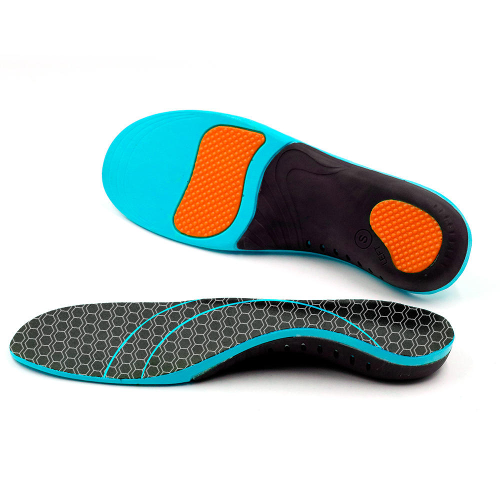 Custome Orthotic Insoles for Flat Feet, Arch Support Thin Shoe Inserts Against Plantar Fasciitis for Men and Women