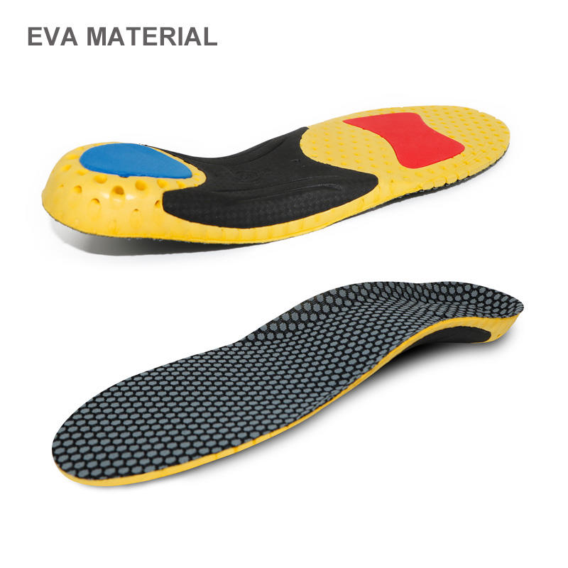 Arch Support Orthotics Insoles with Heel Cup for Flat Feet Insoles Wholesale Custom Orthopedic Shoe Insert