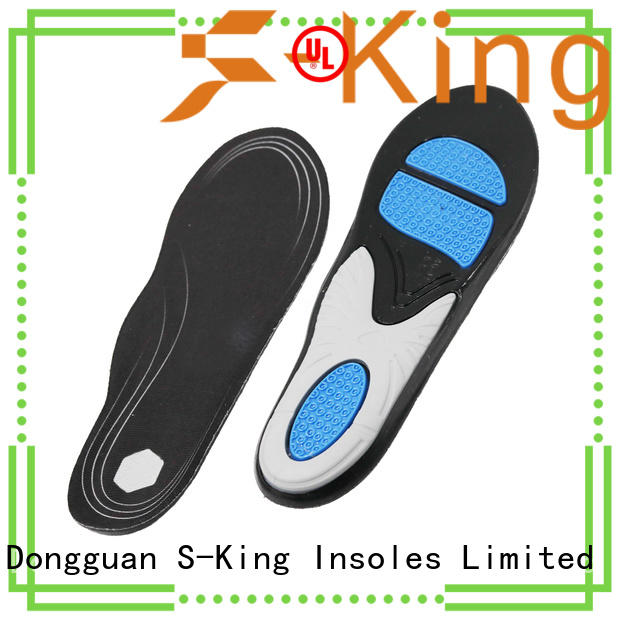 S-King High-quality gel insoles for running company for forefoot pad
