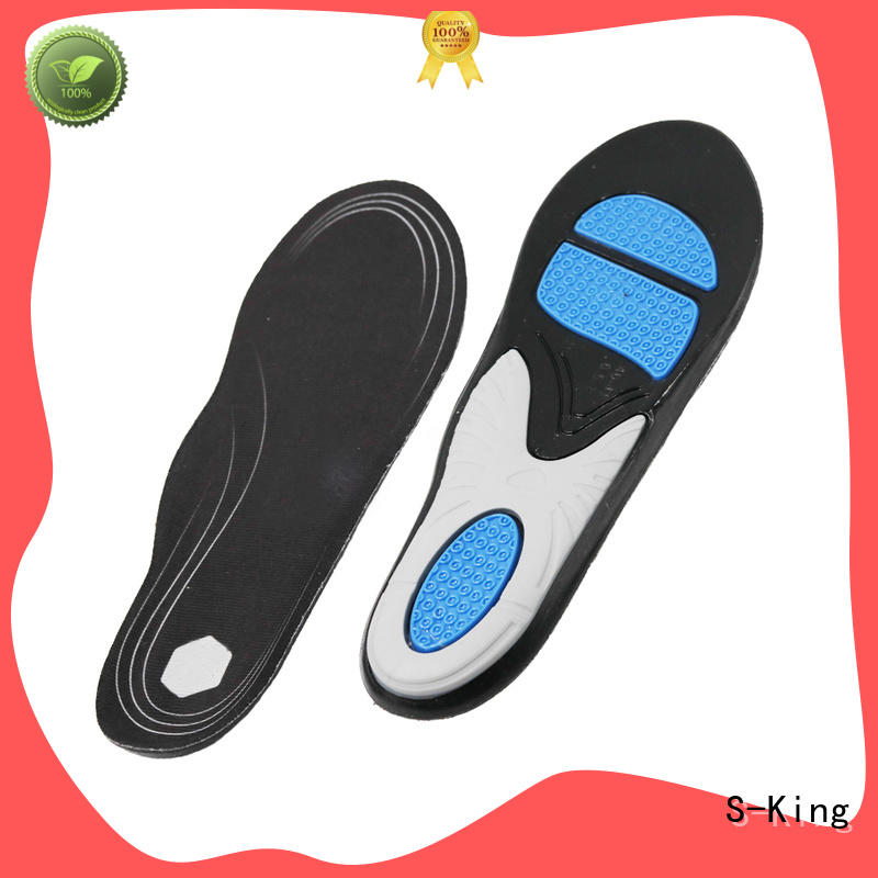S-King arch support gel active insoles metatarsal for forefoot pad