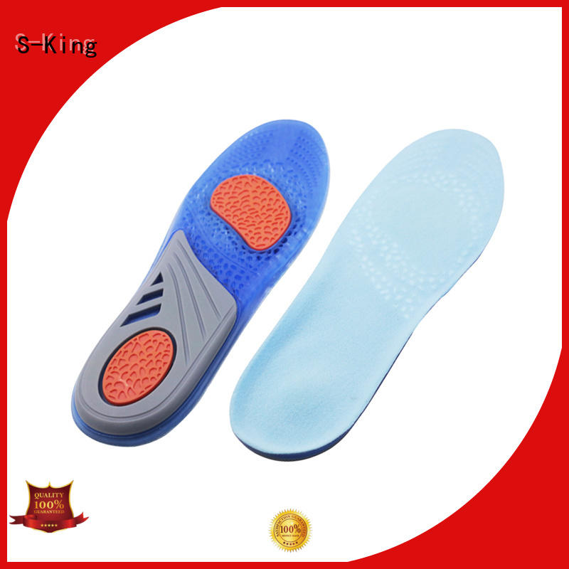 Top gel insoles for men's shoes for forefoot pad