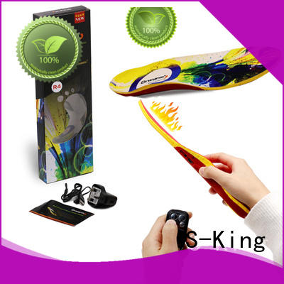 Quality S-King Brand battery heated insoles wire
