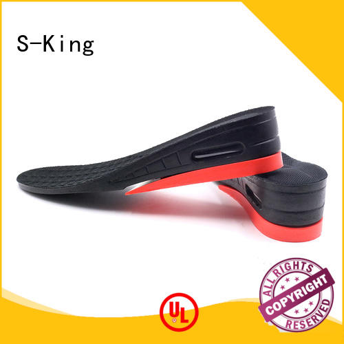 S-King taller thick insoles lift up insert Foot Accessories