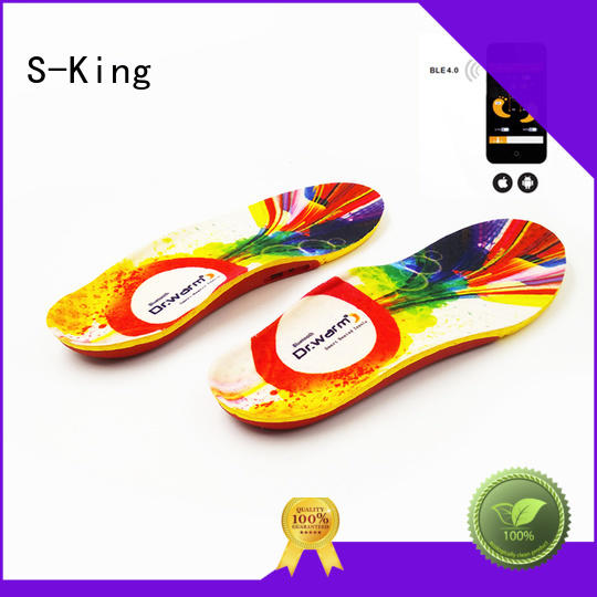 battery heated insoles winter insoles controlled Warranty S-King