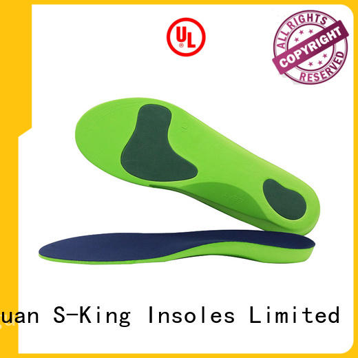 Orthopedic Shoe Insoles, Adjustable Full Lenghth Eva Orthotic Shoe Insole With Arch Support