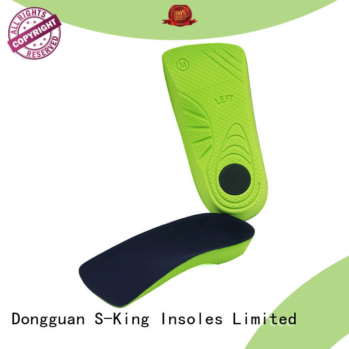 S-King orthotic insoles for flat feet for sports
