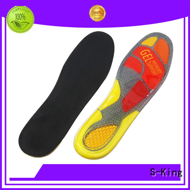 S-King gel insoles for shoes factory for foot care