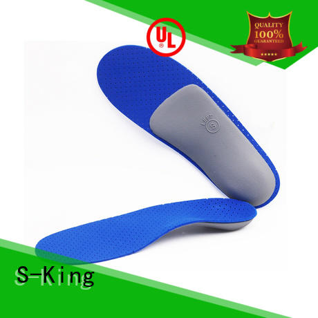 S-King OEM custom orthotic insoles Supply for footcare health