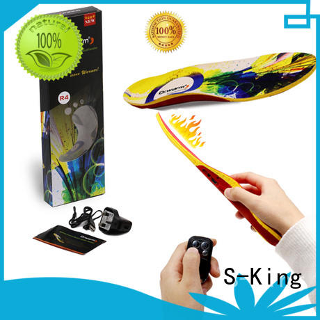 remote control S-King Brand heated insoles