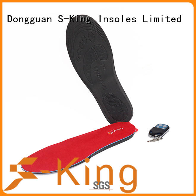 S-King New electric insoles foot warmers for snow